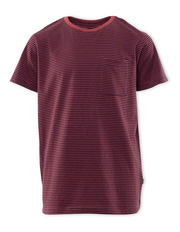 Stripe Pocket Tee image 1