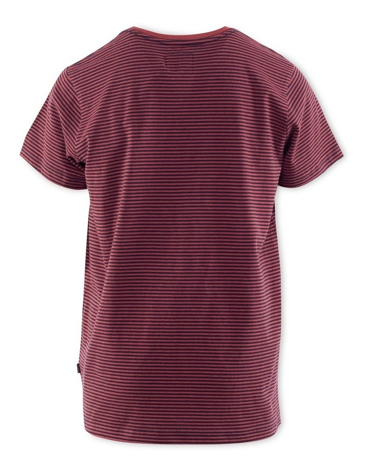 Stripe Pocket Tee image 2