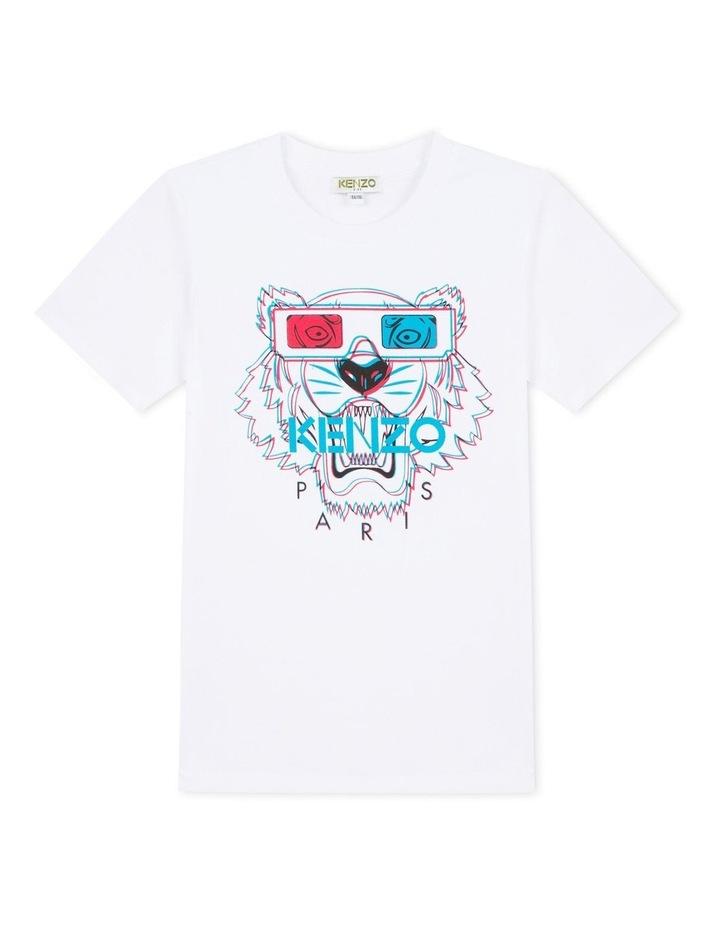 Tiger Fashion Print Tee JB4 (Size 8-12) image 1