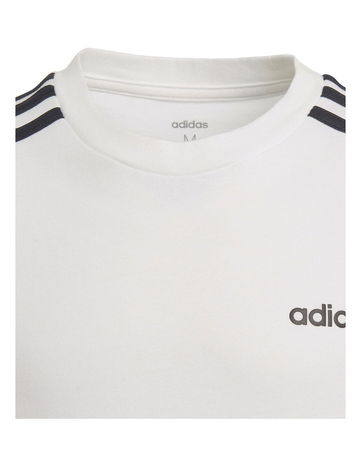 Youth Boys Essentials 3 Stripes T-Shirt image 4