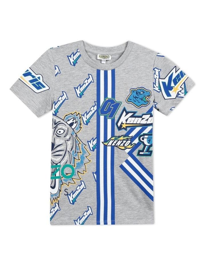 Boys Fashion Print Tee Frank (14) image 1
