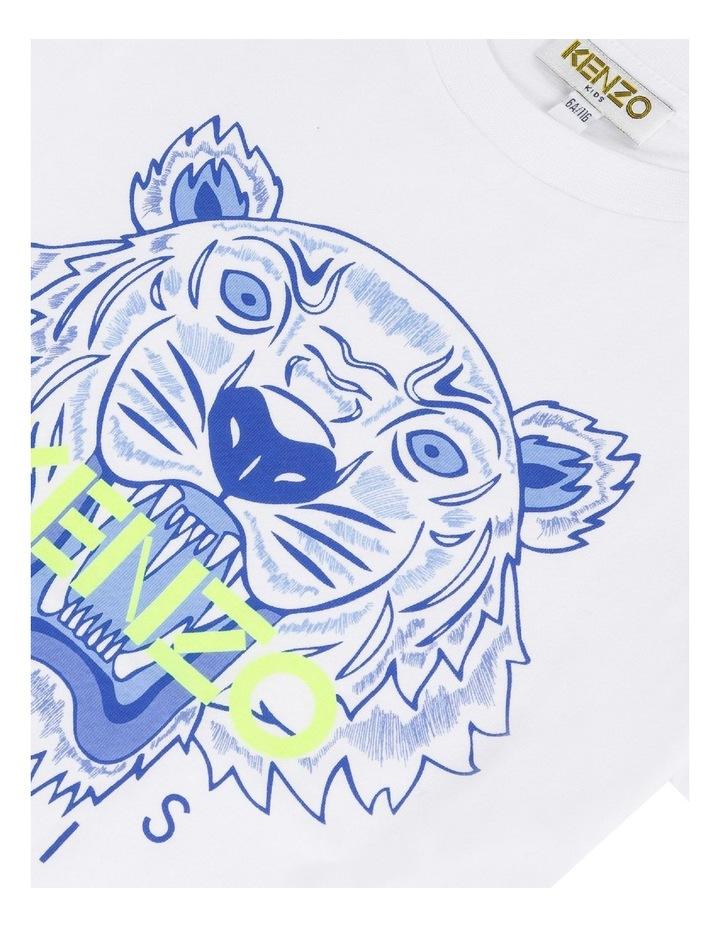 Tiger Print Logo Tee - JB B1 (8-12) image 3