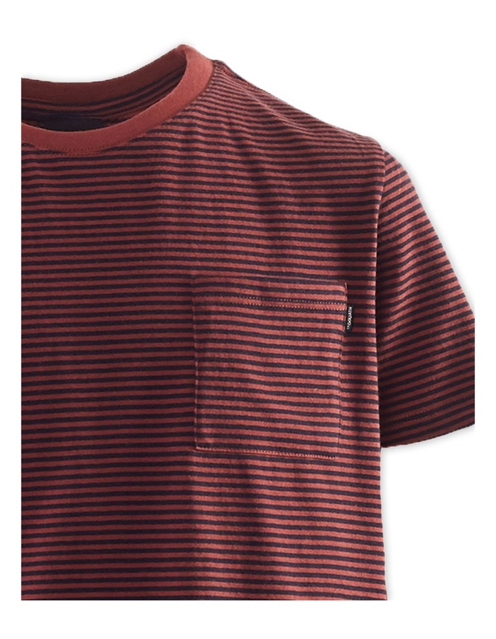 Pocket Stripe Tee 8-16 Boys image 3