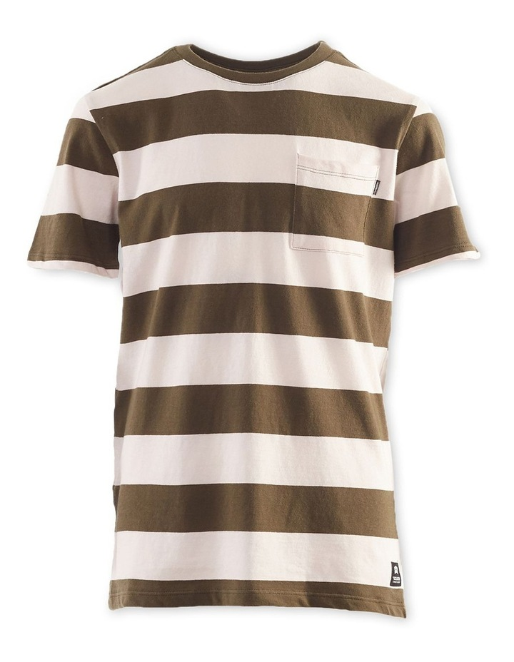 Block Stripe Tee 8-16 Boys image 1