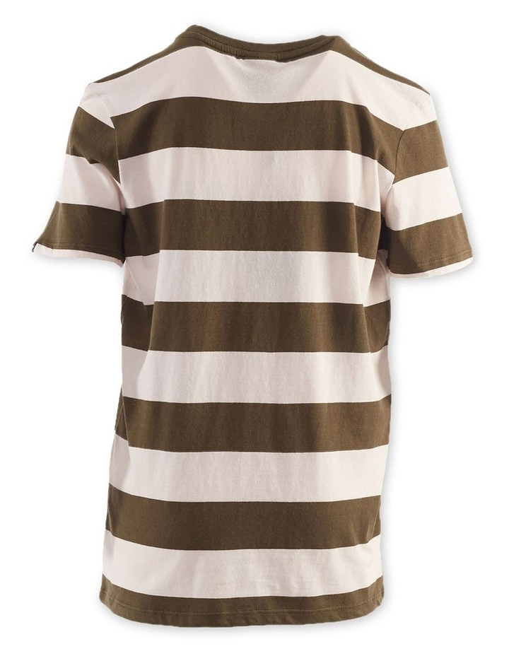 Block Stripe Tee 8-16 Boys image 2