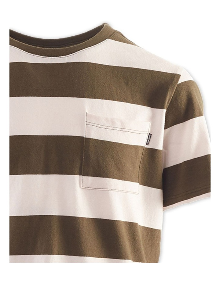 Block Stripe Tee 8-16 Boys image 3