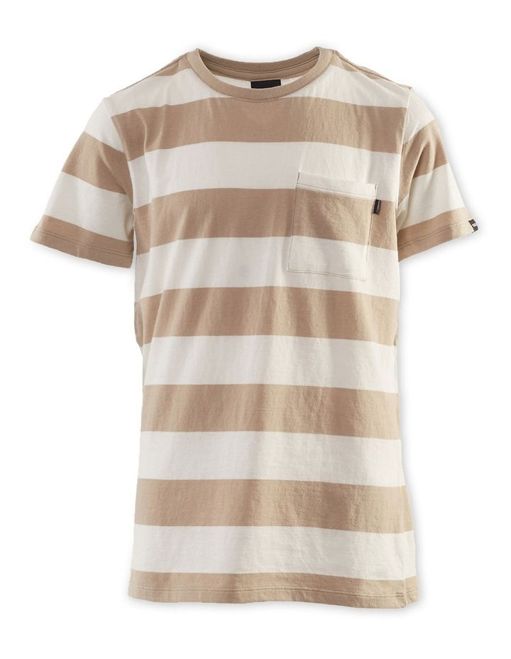 Block Stripe Tee 8-16 Boys image 1