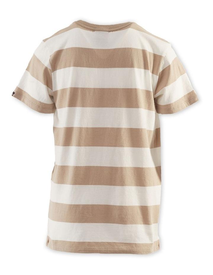 Block Stripe Tee 8-16 Boys image 2