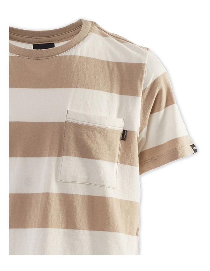 Block Stripe Tee 8-16 Boys image 3