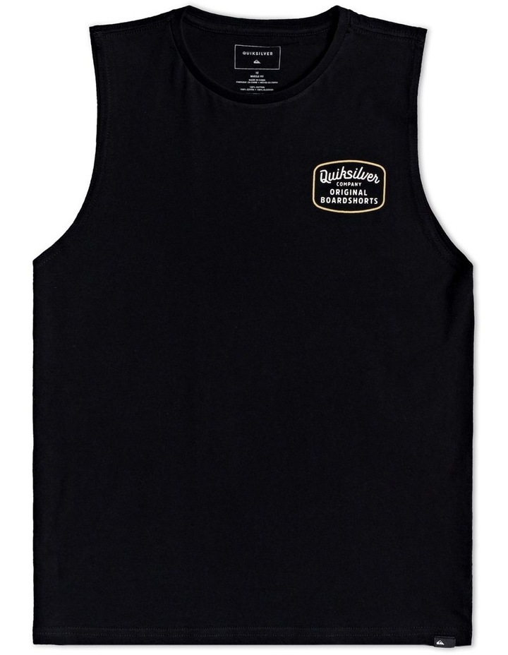 Rear View Muscle Tee for Boys image 1
