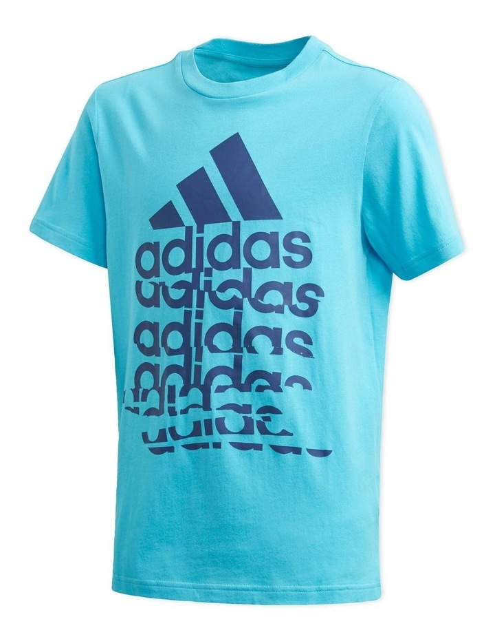 Young Boys Badge Of Sport T-Shirt image 1