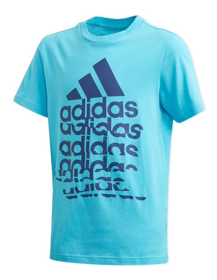 Young Boys Badge Of Sport T-Shirt image 2