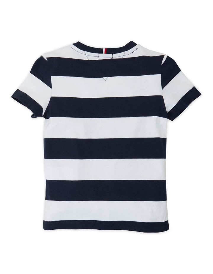 Rugby Stripe Graphic Tee image 2