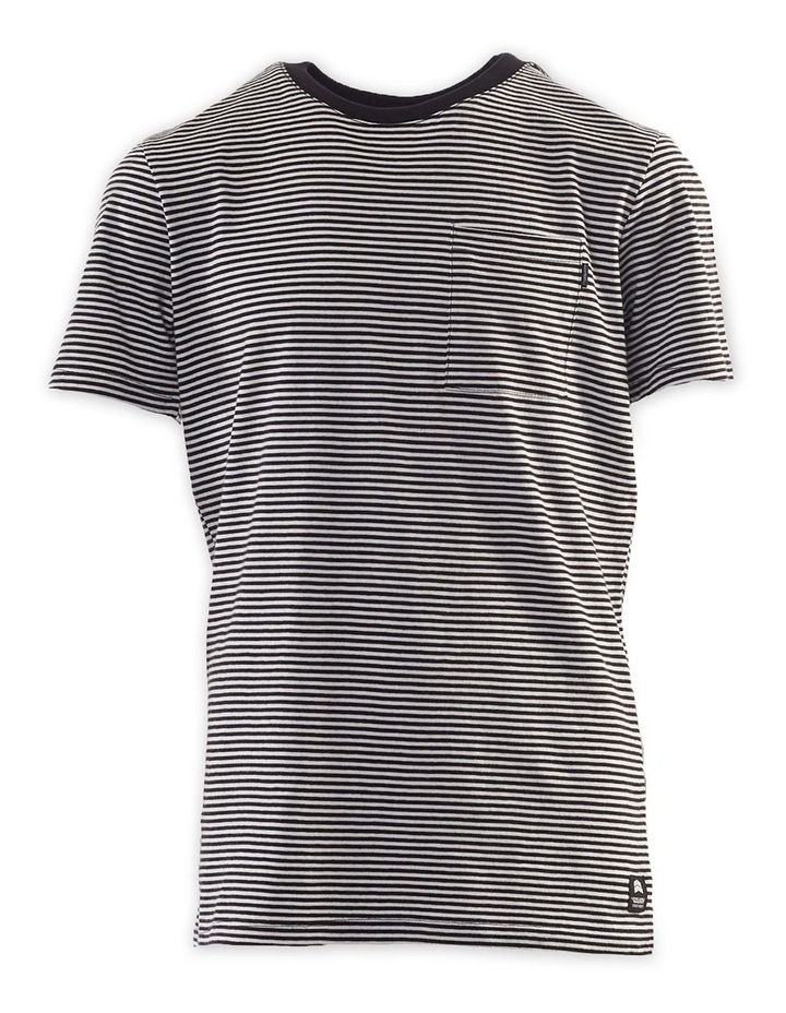 Pocket Stripe Tee 8-16 Boys image 1