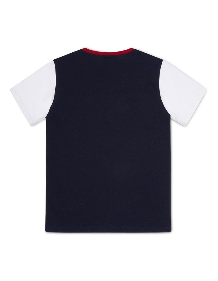 EU Boys Colour Block Short Sleeve Tee image 2