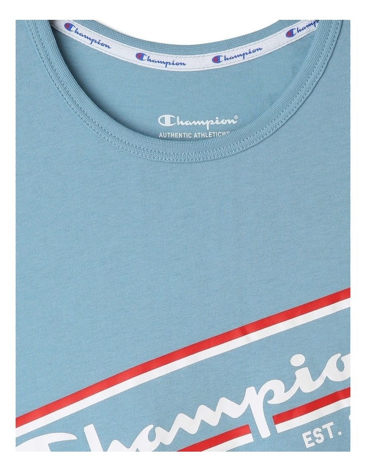 Sporty Short Sleeved Tee image 4