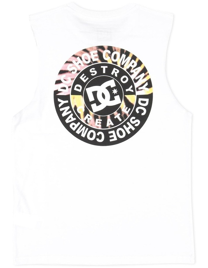 Destroy Muscle Tee image 2