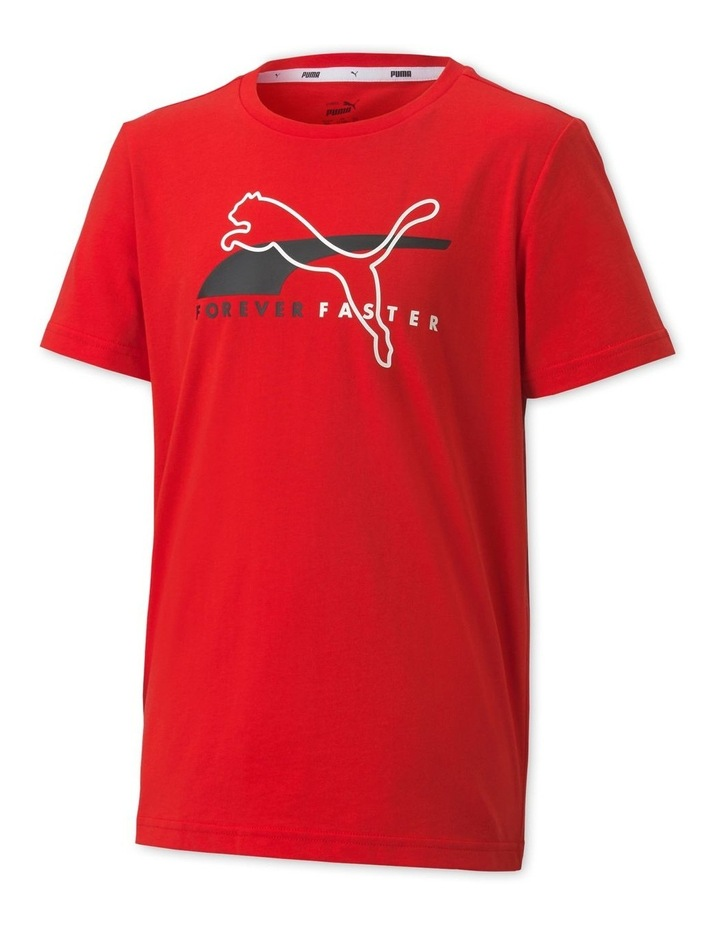 Alpha Graphic Tee B High Risk Red image 1