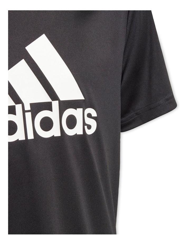 Boys Adidas Designed To Move Big Logo Tee image 4