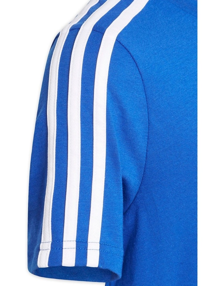 Boys Adidas Essentials 3-Stripes T-Shirt image 3