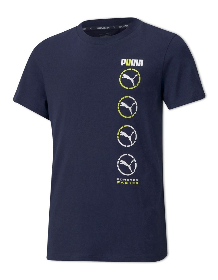 Active Sports Graphic Tee B Peacoat image 1
