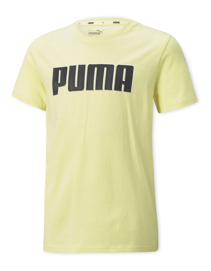 Alpha Graphic Tee B Yellow Pear image 1