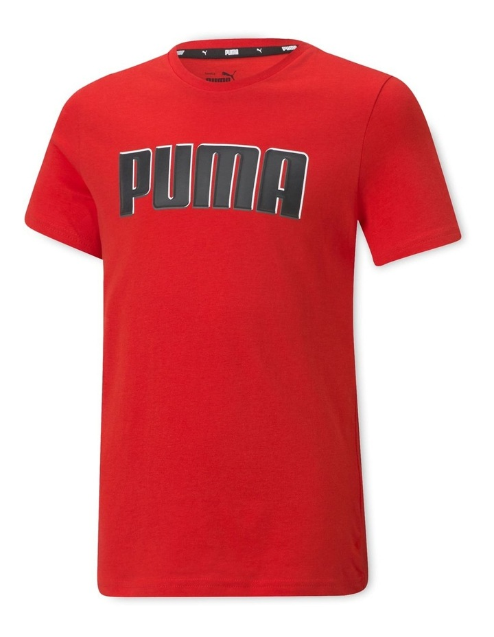 Alpha Graphic Tee High Risk Red image 1