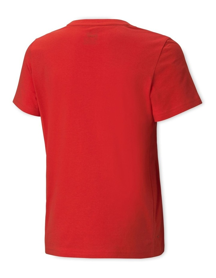 Alpha Graphic Tee High Risk Red image 2