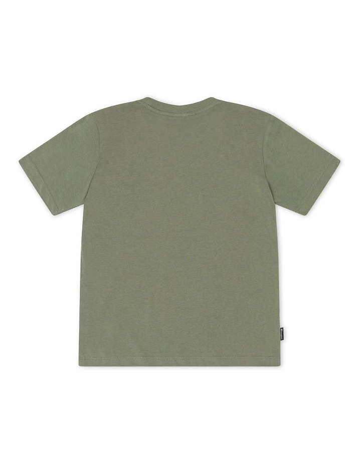 Recycled T-Shirt Green image 2