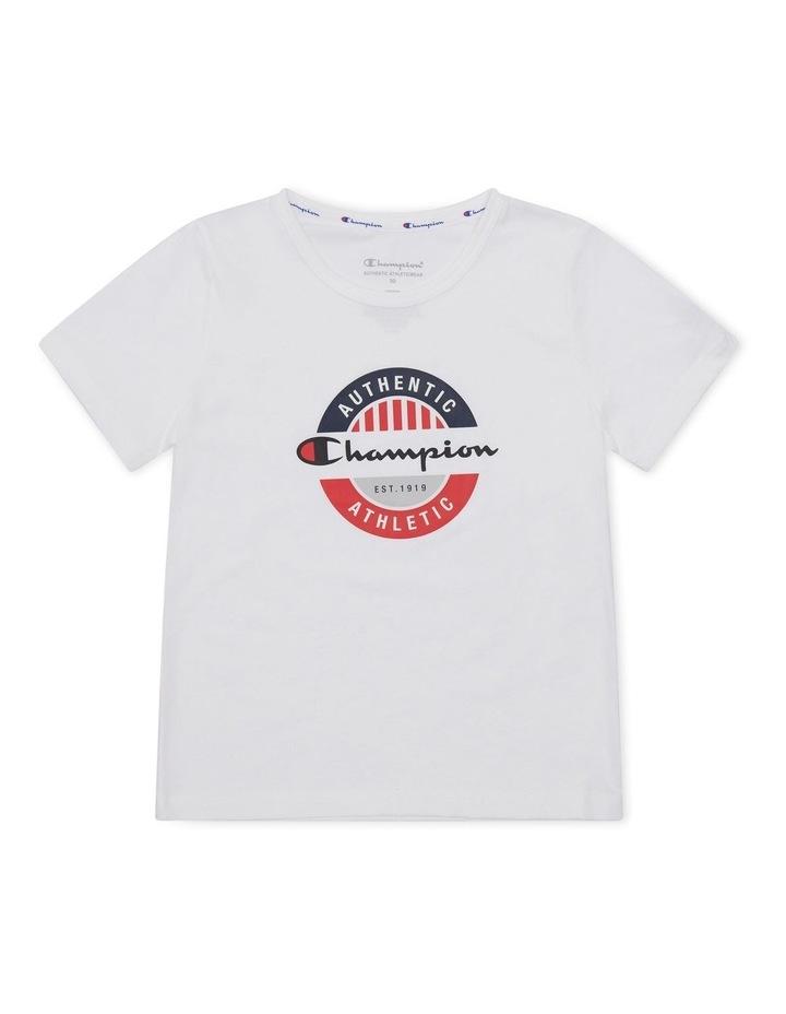 Sporty T-Shirt White image 1