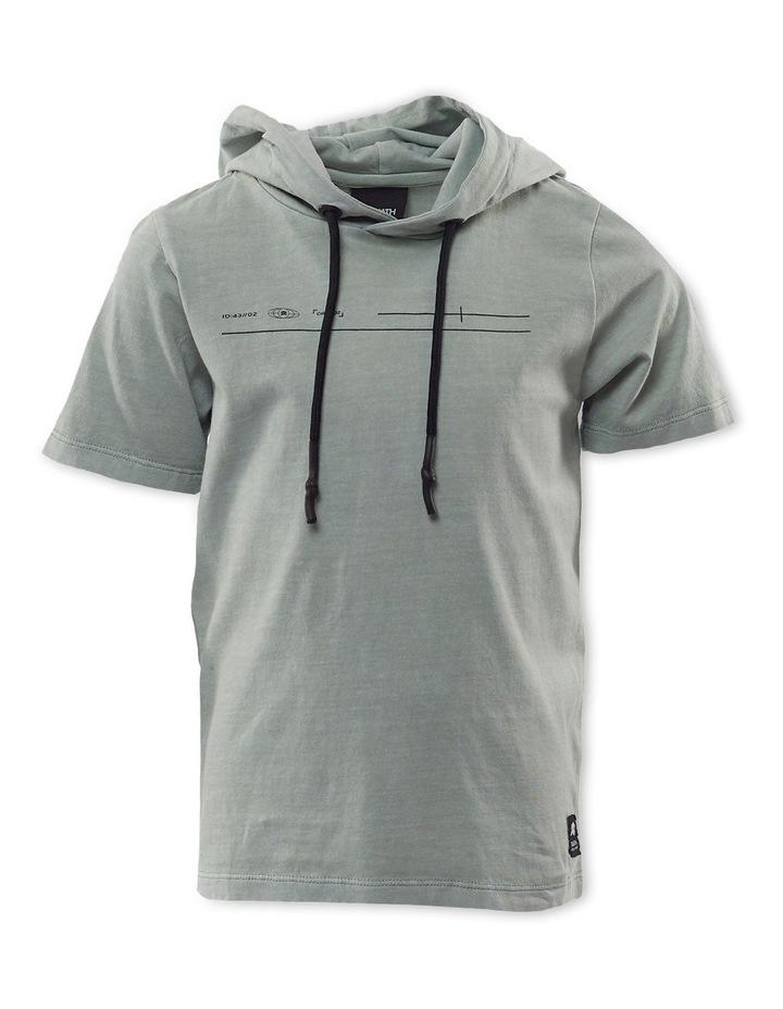 Leo Mint Hooded T-Shirt image 1
