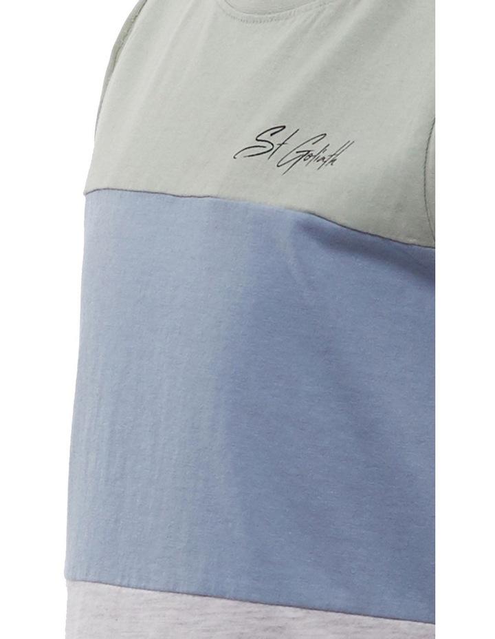 Leo Mint Hooded T-Shirt image 3
