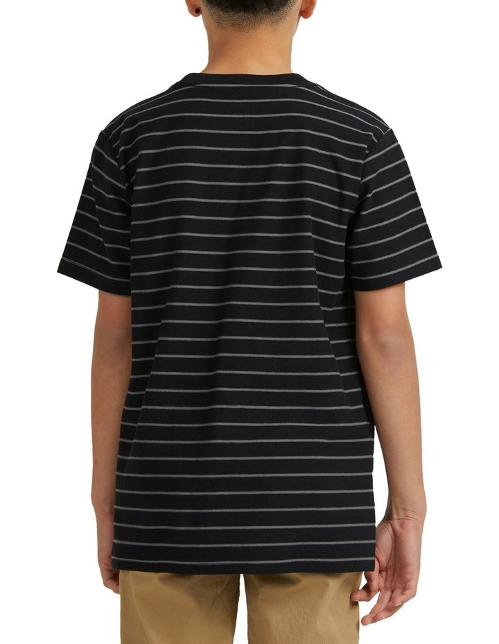 Boys Dialled Stripe Short Sleeve Tee image 2
