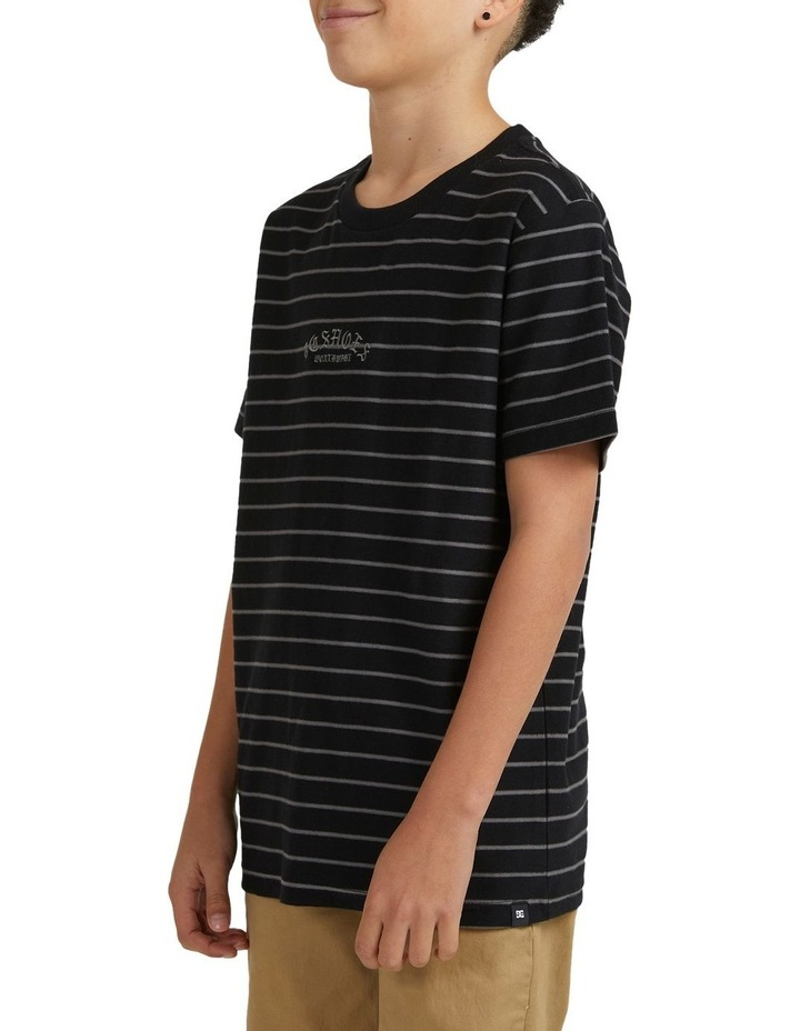 Boys Dialled Stripe Short Sleeve Tee image 3