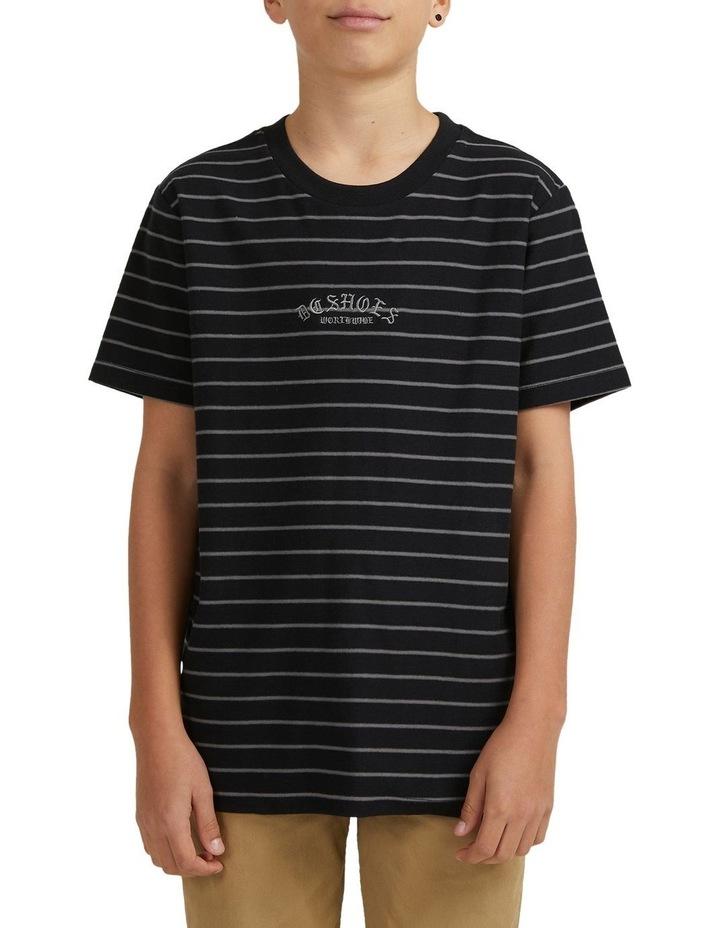 Boys Dialled Stripe Short Sleeve Tee image 4