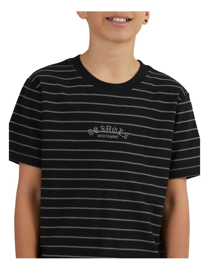 Boys Dialled Stripe Short Sleeve Tee image 5