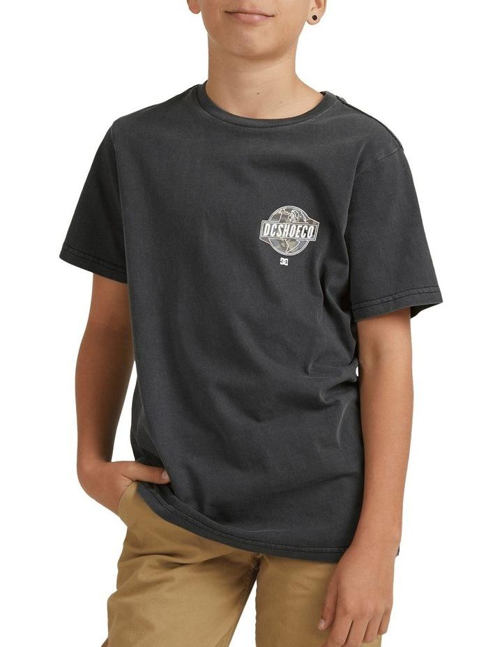 Around The World T-Shirt Black image 1