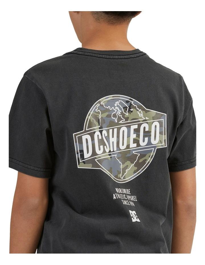Around The World T-Shirt Black image 5