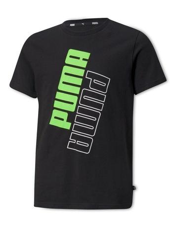 PUMA BLACK-GREEN FLA colour
