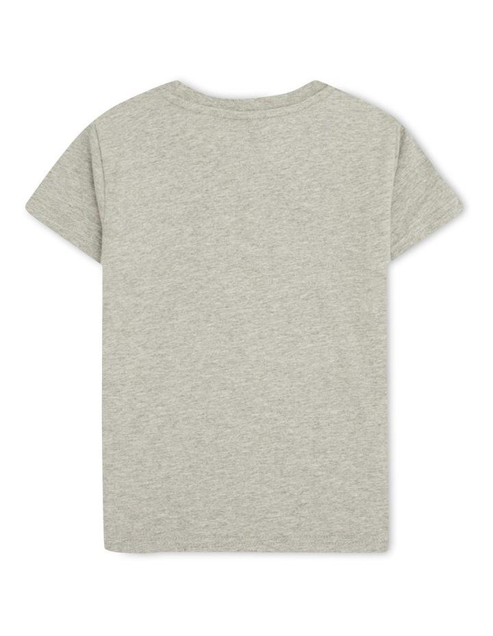 Malia Crew Neck T-Shirt Grey image 2