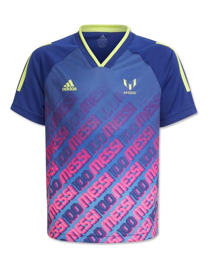 Boys Messi Aeroready Football Jersey image 1