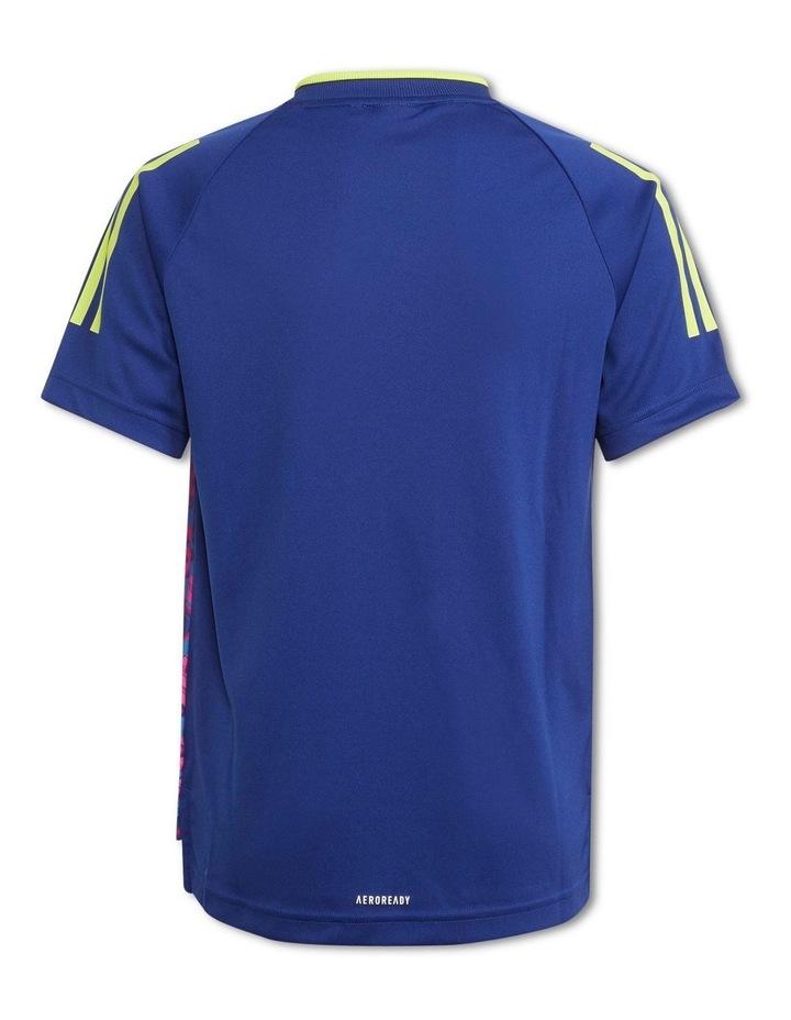 Boys Messi Aeroready Football Jersey image 2