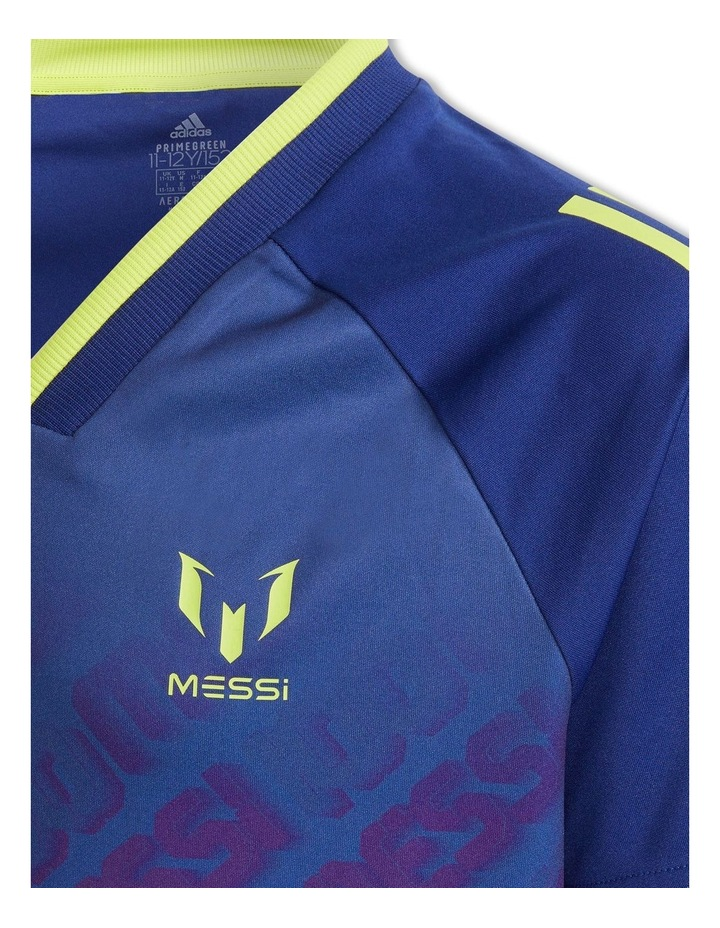 Boys Messi Aeroready Football Jersey image 4