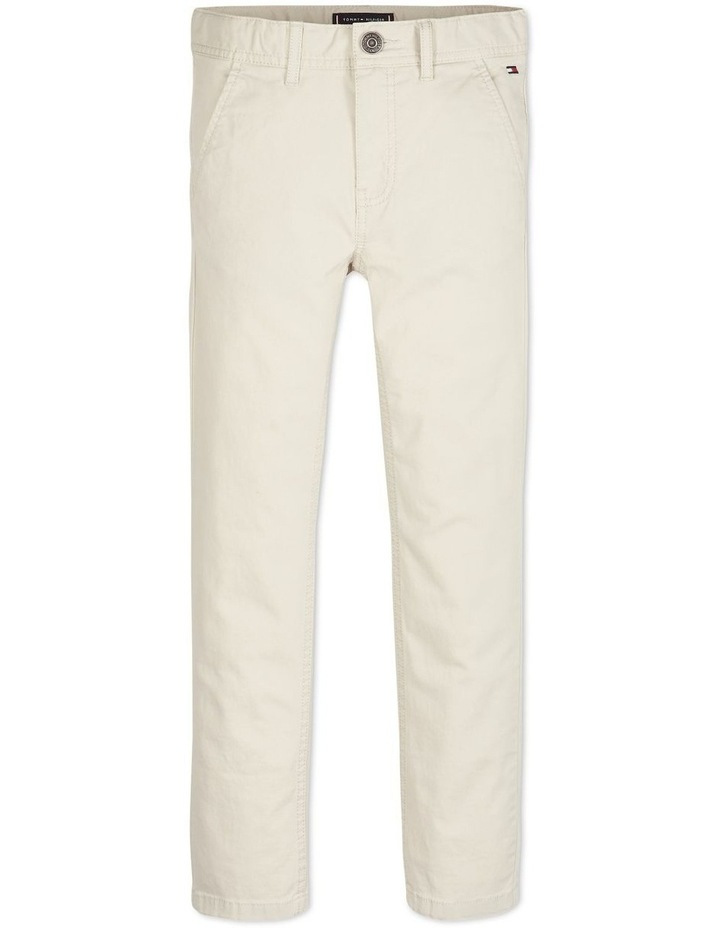 Boys 3-7 Essential Organic Cotton Slim Fit Chinos image 1