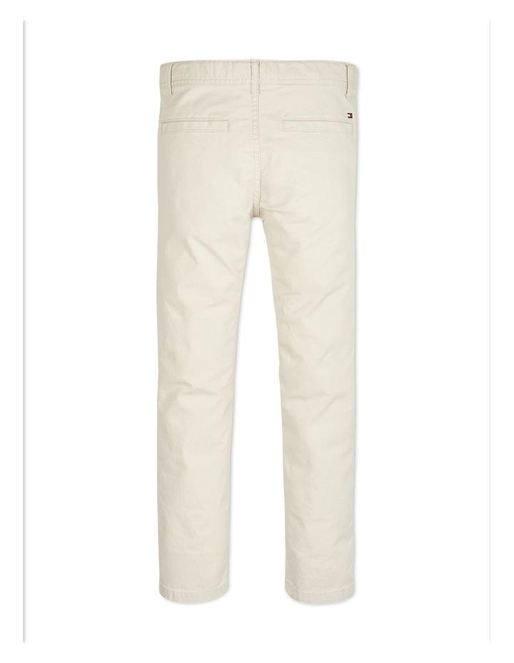 Boys 3-7 Essential Organic Cotton Slim Fit Chinos image 2