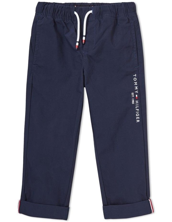 Stretch Poplin Pull On Pants image 1