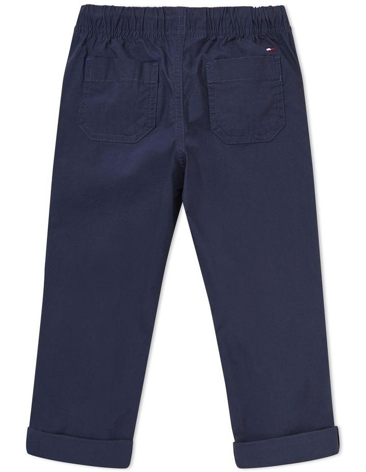 Stretch Poplin Pull On Pants image 2