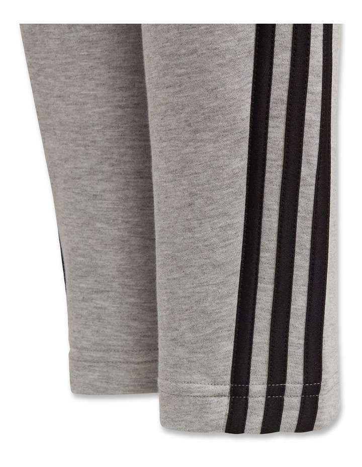 Boys 3 Stripes Doubleknit Tapered Leg Pants image 4