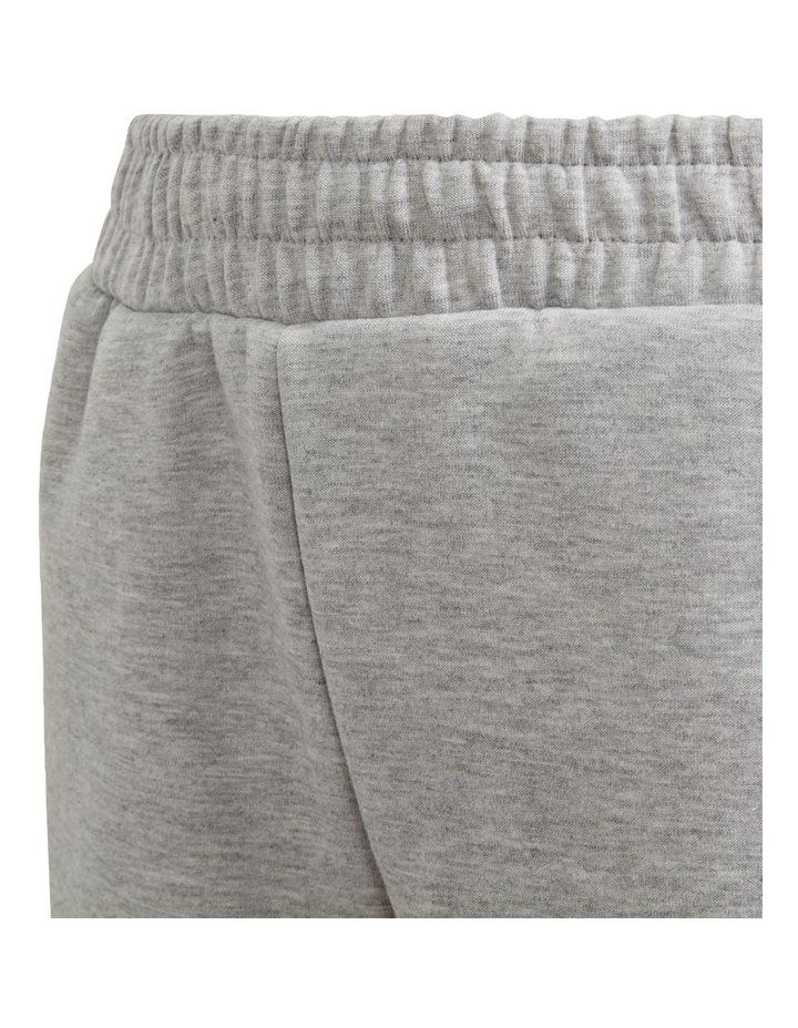 Boys 3 Stripes Doubleknit Tapered Leg Pants image 5