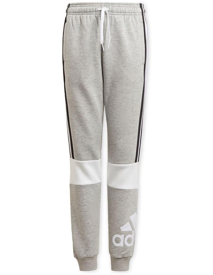 Boys Adidas Essentials Colorblock Joggers image 1